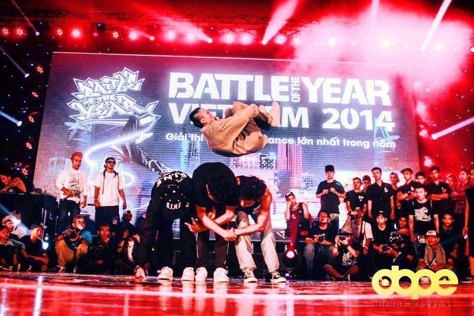 Big Toe đại diện Việt Nam tranh giải thi đấu Breakdance lớn nhất BOTY Việt Nam