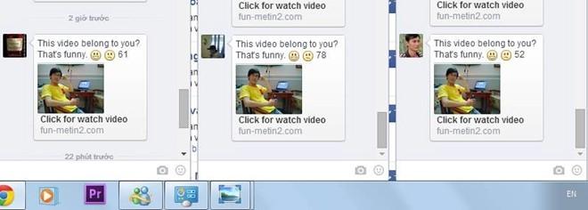 Virus phát tán liên kết chứa mã độc hoành hành Facebook ở VN