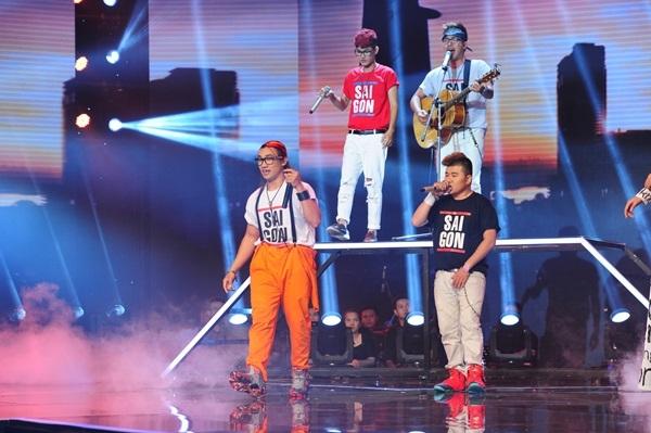 Nhóm F-Band cùng ca khúc La la Sài Gòn