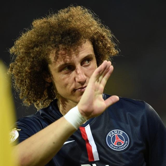 PSG bổ sung cho hàng phòng ngự bằng David Luiz