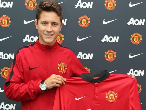 Ander Herrera trong màu áo Man Utd.