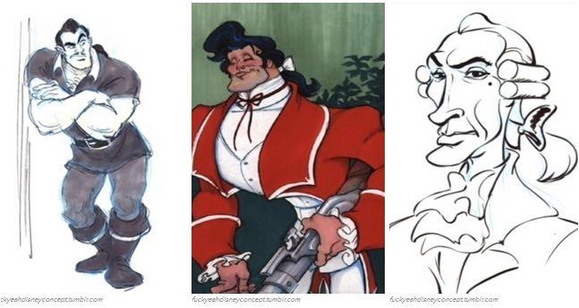 Ngắm các nhân vật Disney cực khác lạ qua tranh vẽ