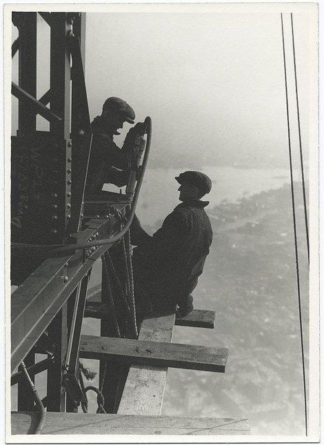 Ngắm vẻ đẹp lao động qua chùm ảnh xây dựng tòa nhà Empire State