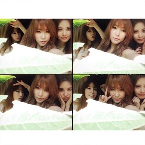 Taeyeonnhắng nhít cùng Tiffany và Seohyun