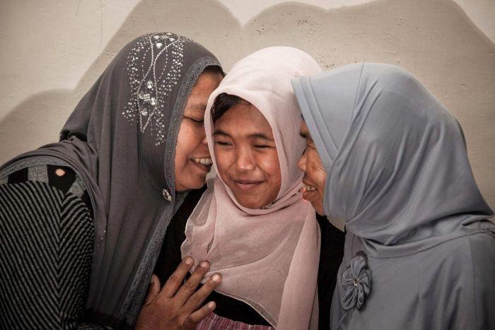 Indonesia: Thêm một cuộc đoàn tụ kỳ diệu 10 năm sau sóng thần