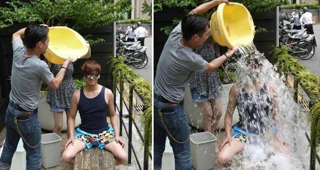 Dàn sao Hoa Ngữ hào hứng với thử thách 'dội nước đá'