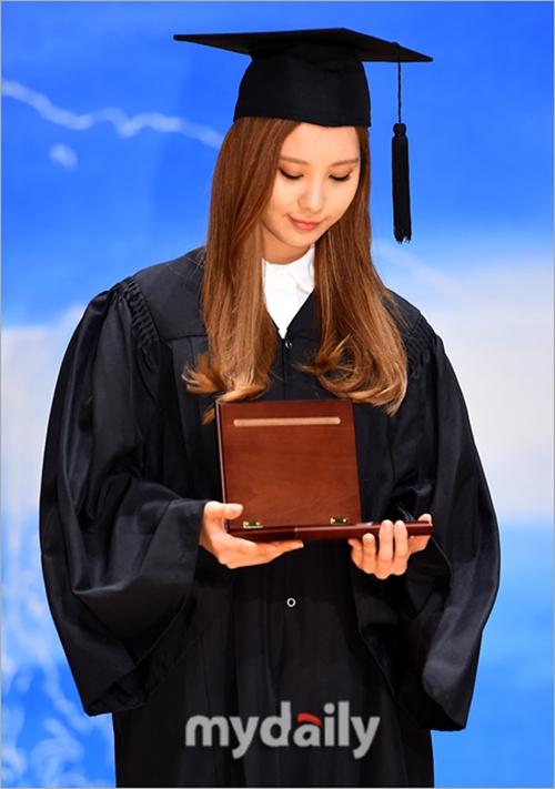Em út Seohyun (SNSD) chính thức tốt nghiệp đại học