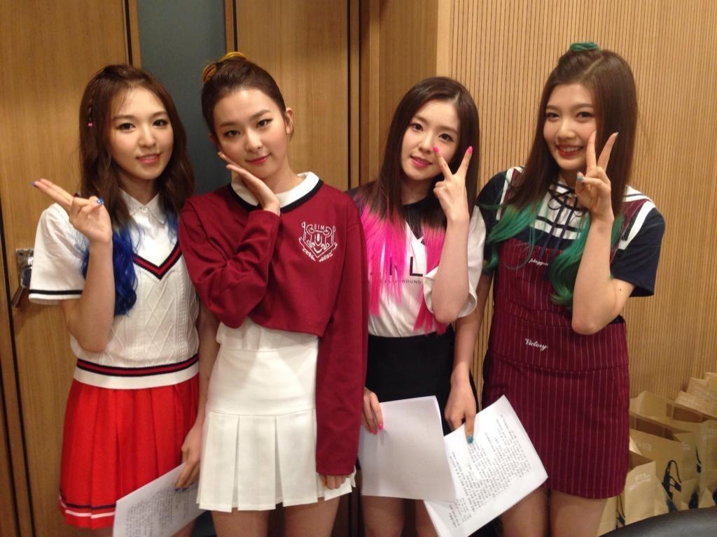 Red Velvet lần đầu chia sẻ mẫu hình lý tưởng