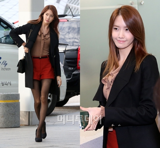 Những kiểu áo khoác sao Hàn ưa thích