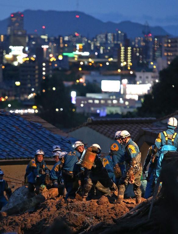 Nhật Bản: Gần 90 người chết và mất tích do lở đất