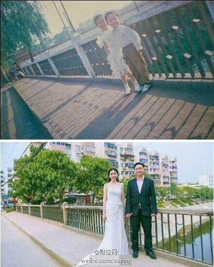 """Cảm động với anh chàng cưới được """"cô bé hàng xóm"""" yêu thầm sau 18 năm thất lạc"""