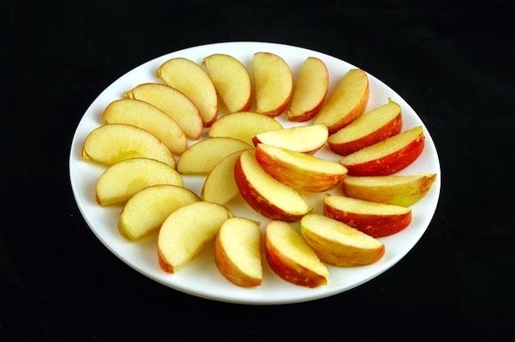 Ba quả táo đỏ = 200 calo