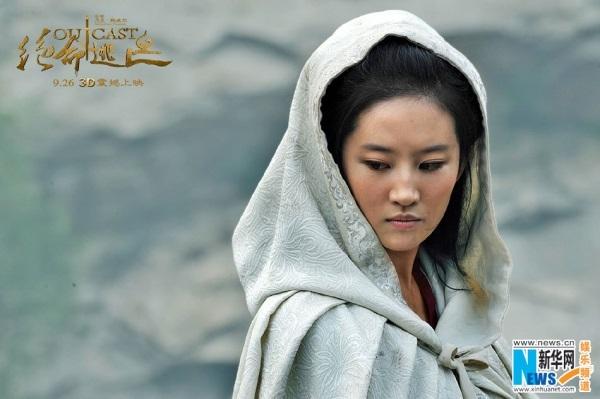 Lưu Diệc Phi chịu khổ vì hóa thân thành công chúa chạy trốn