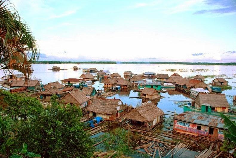 Chiêm ngưỡng Iquitos - thành phố không thể đến bằng đường bộ