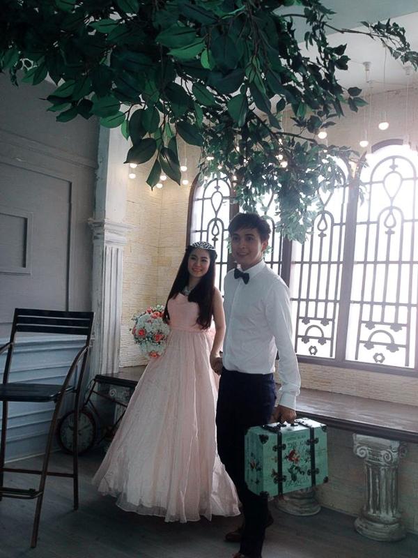 Mặc tin đồn có bầu, Lương Bích Hữu khoe ảnh cưới với Hồ Quang Hiếu - Tin sao Viet - Tin tuc sao Viet - Scandal sao Viet - Tin tuc cua Sao - Tin cua Sao