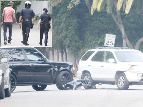Vụ đâm xe hồi tháng 10/2013 của Becks