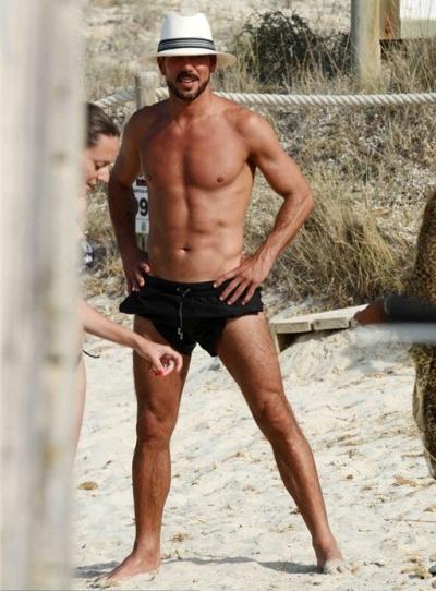 Diego Simeone, người đàn ông sexy nhất trên biển