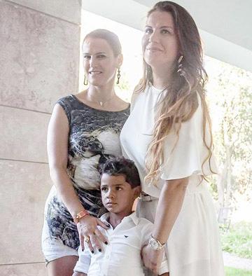 Gia đình CR7 khá kín tiếng về mẹ cậu nhóc Cristiano Jnr.