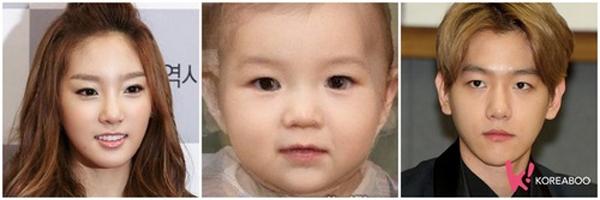 Em bé tương lai của Taeyeon và Baekhyun