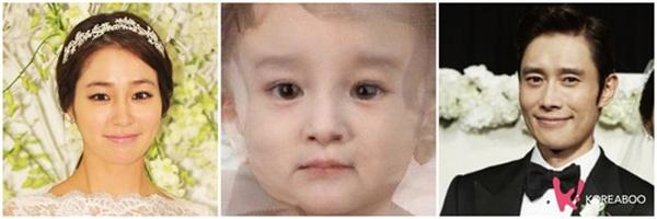 Em bé tương lai của Lee Min Jung và Lee Byung Hun