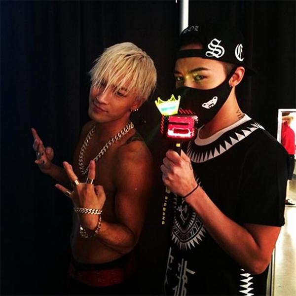 G-Dragon góp mặt trong concert của bạn thân Taeyang tại Osaka, Nhật Bản