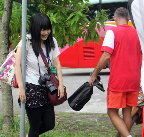 Nữ phóng viên Megumi Hana là fan của U19 Việt Nam