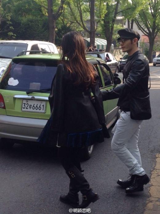 Huỳnh Hiểu Minh lại lén lút dắt AngelaBaby đi Mỹ