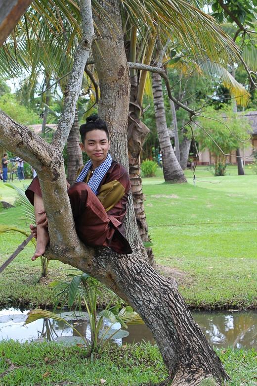 Đoan Trang đưa cải lương vào các điệu nhảy cho thí sinh nhí