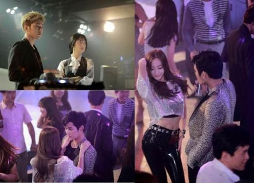 Hình ảnh L và Hoya trong đoạn teaser của phim My Lovely Girl