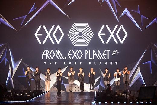EXO cháy hết mình cùng 22.000 fan ở Thái Lan