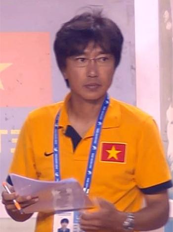 HLV Miura đã mang lại những thay đổi tích cực cho Olympic Việt Nam chỉ trong một thời gian ngắn nắm quyền. Ảnh:Quang Dũng.