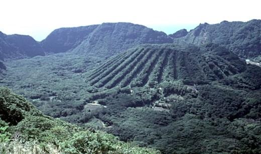 Bình yên đảo núi lửa Aogashima hoang sơ