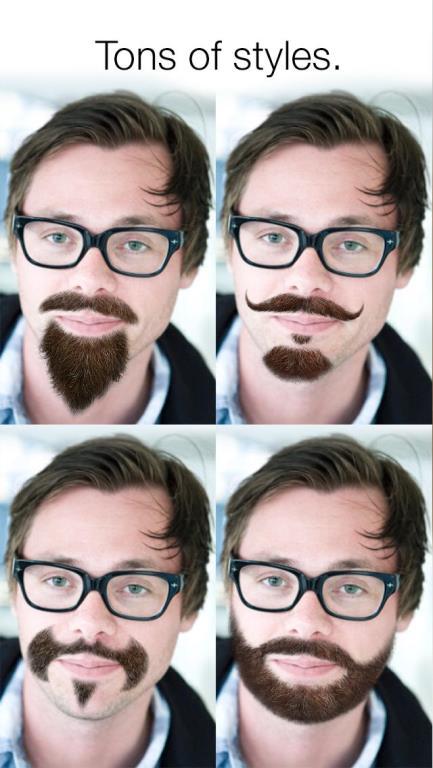 """Thích thú với trào lưu """"mọc râu"""""""