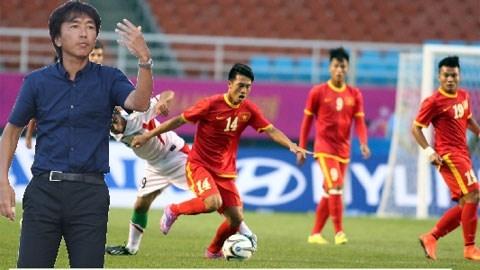 HLV Miura đã sử dụng tới 3 sơ đồ khác nhau trong trận thắng đậm Olympic Iran