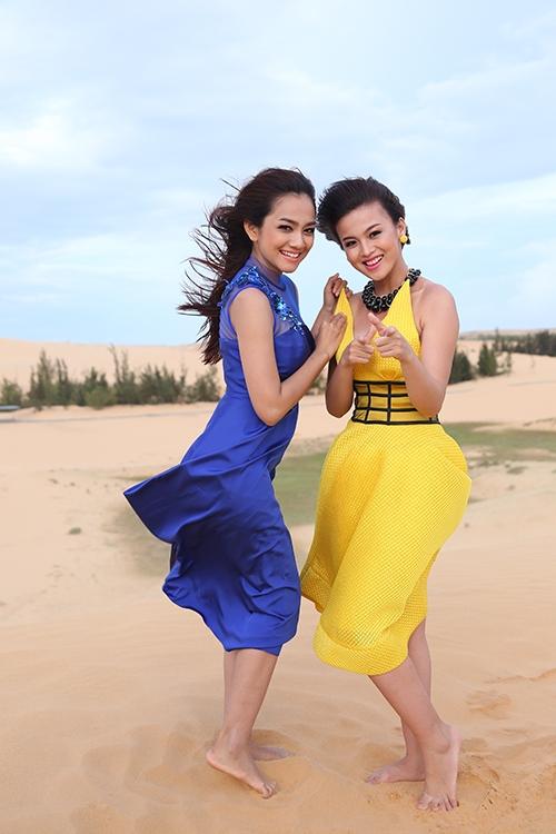 Châu Diệu Minh và Mỹ Dung.