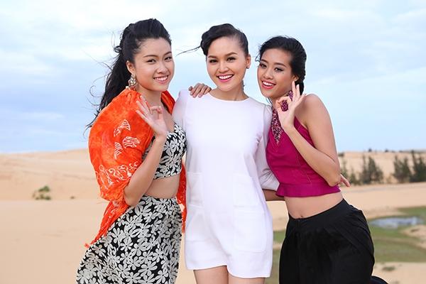 Thanh Huyền, Thu Hiền và Khánh Vân.