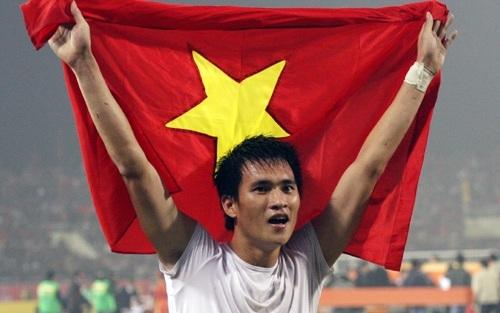 Công Vinh đã khẳng định được vị thế ngôi sao số 1 của bóng đá Việt