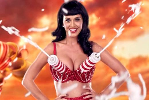 Chiếc áo ngực phun sữa độc đáo của Katy Perry