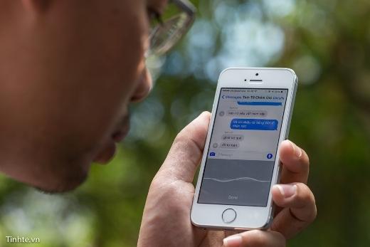 Hướng dẫn kích hoạt chức năng dùng giọng nói gửi tin nhắn trên iOS8