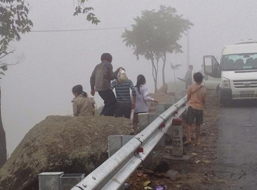Thời điểm xảy ra tai nạn có khá nhiều sương mù.