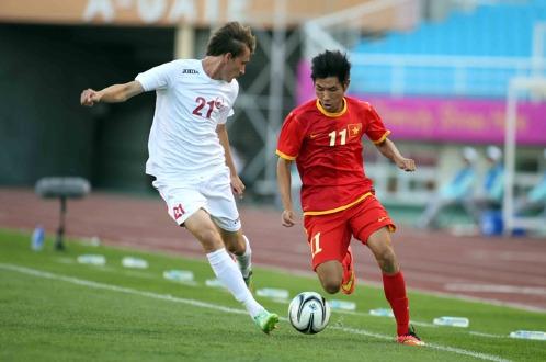 Thắng U23 Kyrgyzstan, U23 Việt Nam hẹn UAE ở vòng 1/8