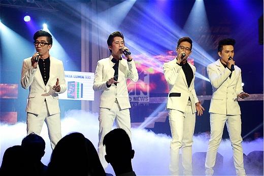 Nhóm Ayor lắng đọng với ca khúc 'Chỉ là giấc mơ'. Đây là bài hát nhóm rất thành công tại cuộc thi X-Factor 2014. - Tin sao Viet - Tin tuc sao Viet - Scandal sao Viet - Tin tuc cua Sao - Tin cua Sao