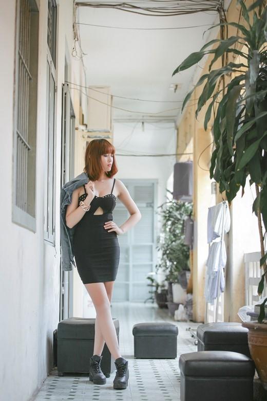 Trong sáng tiết thu với bộ ảnh mới của Lương Minh Trang