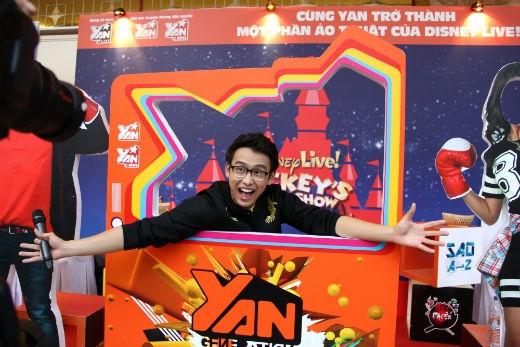 """Và cả các """"bạn lớn"""" như VJ Quang Bảo - YANTV"""