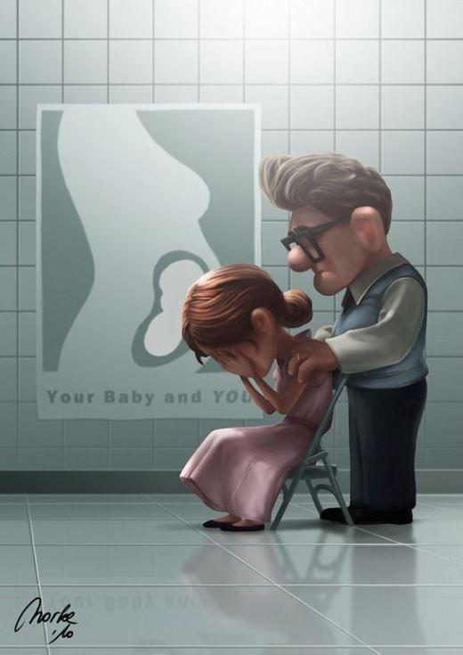 Trong giai điệu 'Remember when', khoảnh khắc cả hai mất đi đứa con là giây phút nhói lòng nhất