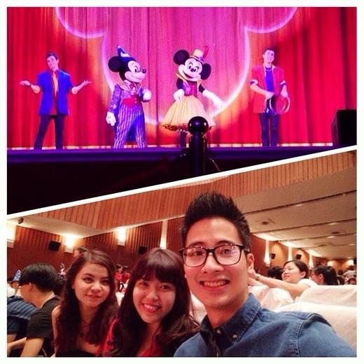 Jveremind háo hức đi xem cùng bạn bè: 'Khán giả nhí lớn đầu nhất đi xem Disney Show hô hô hô' - Tin sao Viet - Tin tuc sao Viet - Scandal sao Viet - Tin tuc cua Sao - Tin cua Sao