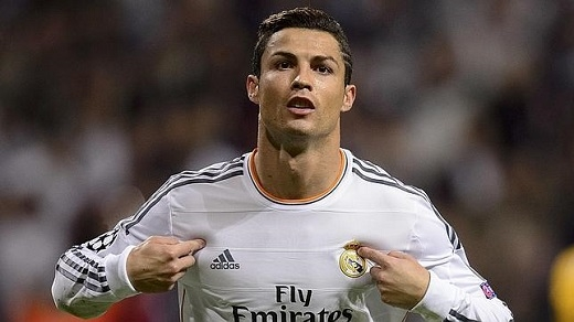Cristiano Ronaldo trong top 5 cầu thủ sút bóng toàn diện
