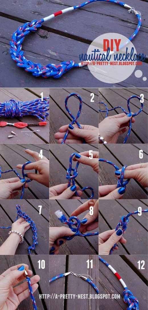 Cực đáng yêu với kiều thắt dây đơn giản