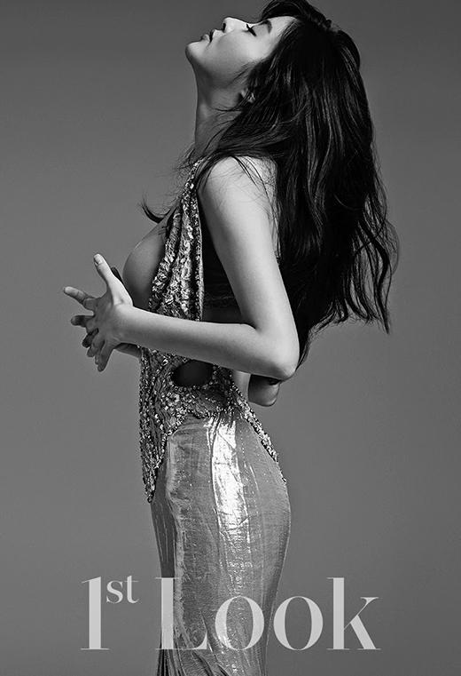 Kang Sora quyến rũ táo bạo trên tạp chí 1st Look