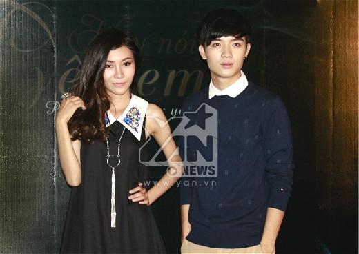 Hai diễn viên chính trong phim Mr.Bi và Mai Mi